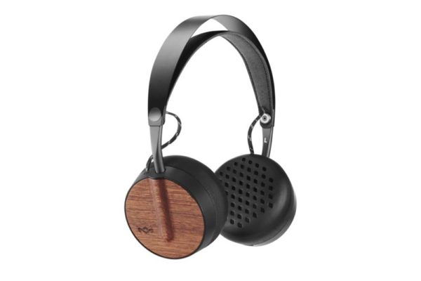 Marley-Buffalo-Soldier-Bluetooth-On-Ear-Kopfhörer-3-Button-RemoteMic-Signature-Black