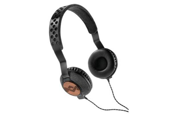 Marley Liberate On-Ear Kopfhörer mit 3-Button Remote/Mic, Midnight – REFURBISHED