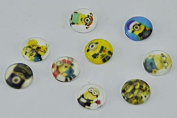iPhone/iPad Home-Button Sticker, 9 Stück - Minions