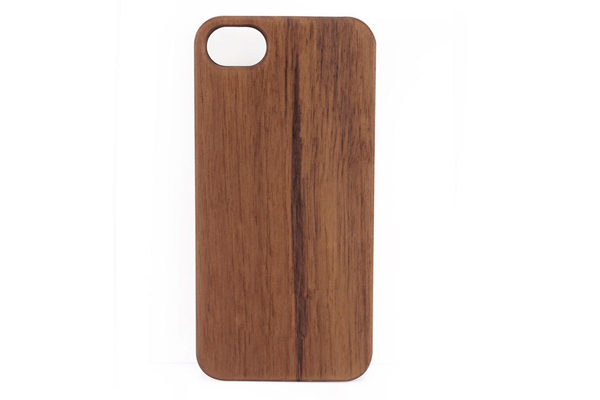 iPhone 5/5S/SE Back-Cover Wallnuss