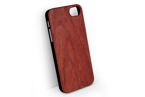 iPhone 5/5S/SE Back-Cover Rosenholz