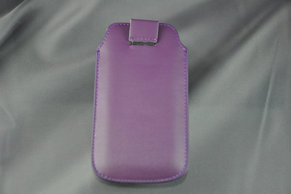 Bridge94 iPhone 5/5S/5C/SE PU-Leder Pull-Tab, violett