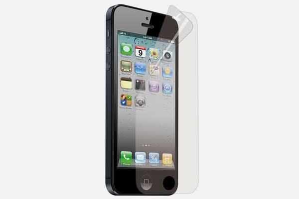 Klarsichtschutzfolie iPhone 5/5S/SE, glänzend - 5 Stück