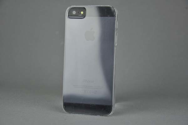 iPhone 5/5S/SE Hard-Back-Cover, transparent klar