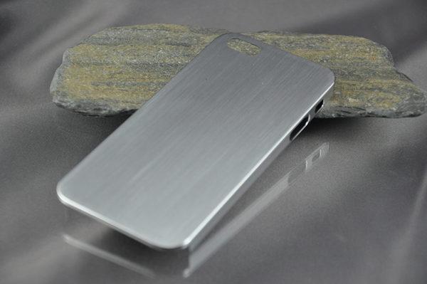 iPhone 5/5S/SE Alucase gebürstet, silber