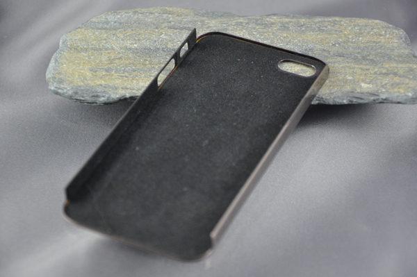 iPhone 5/5S/SE Alucase gebürstet, braun