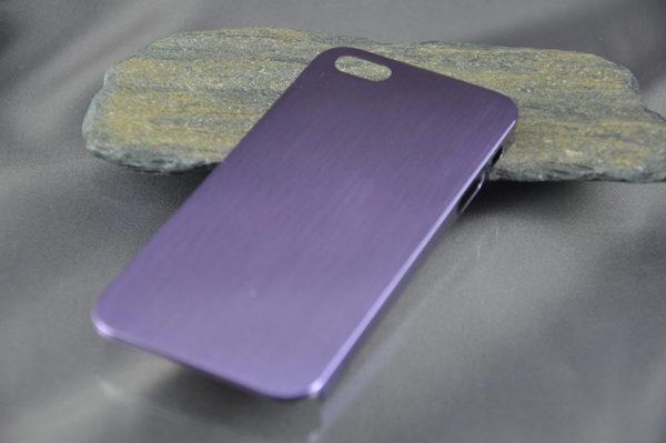iPhone 5/5S/SE Alucase gebürstet, violett