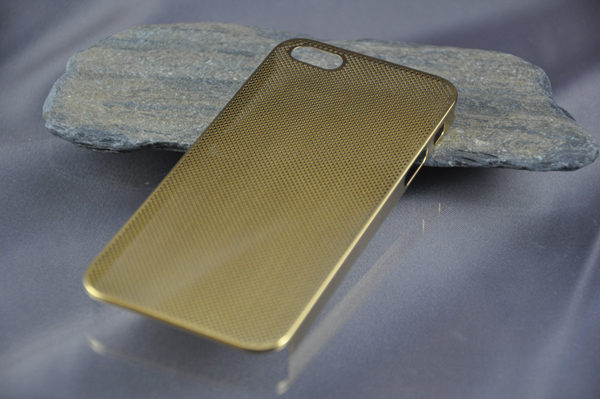iPhone 5/5S/SE Alucase gelocht, gold