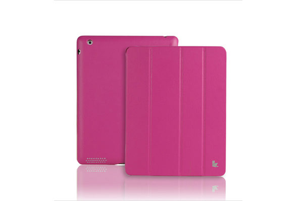 Jisoncase iPad 2/3/4 Executive Smart Cover, pink