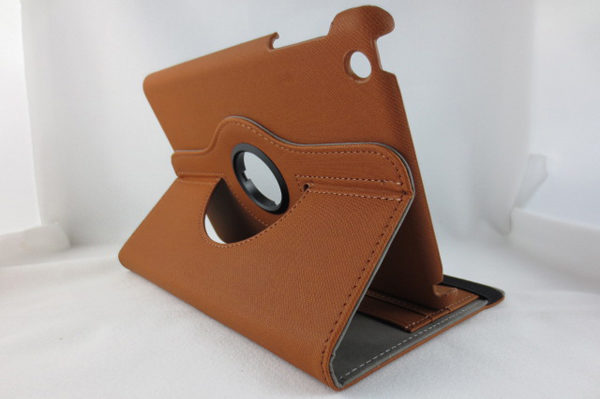 iPad Mini / Mini 2 Rotating-Case, braun