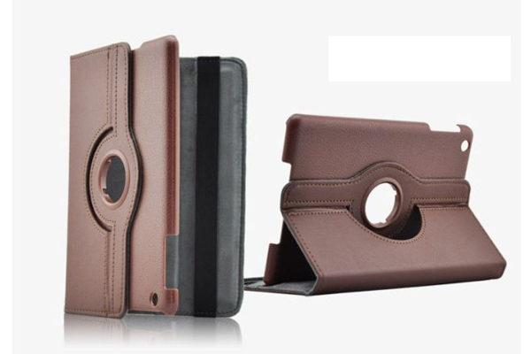 iPad Mini / Mini 2 PU-Leder-Case Rotary, braun
