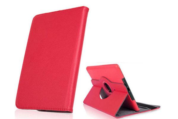 iPad Mini / Mini 2 PU-Leder-Case Rotary, rot