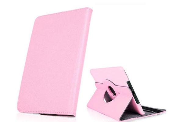 iPad Mini / Mini 2 PU-Leder-Case Rotary, rosa