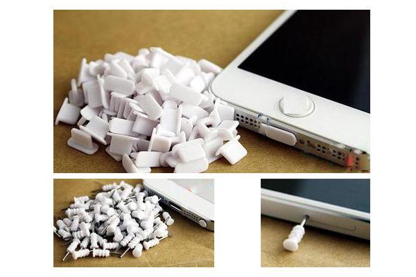 Schutzkappen für iPhone 5/5S/5C/SE/iPad 4/iPad mini, weiss