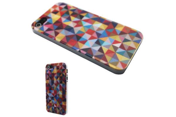 iPhone 5/5S/SE Back-Cover Gemustert