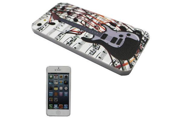 iPhone 5/5S/SE Back-Cover Gitarre