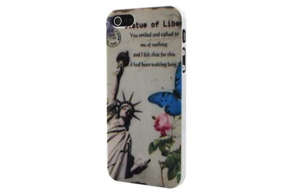iPhone 5/5S/SE Back-Cover Statue of Liberty