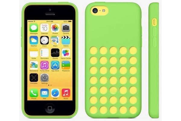 iPhone 5C Silicone Soft Case, grün