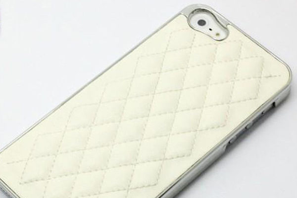 iPhone 5/5S/SE Back-Cover, weiss