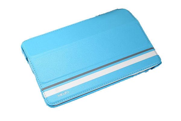 Labato iPad Mini / Mini 2 Leder-Case, hellblau