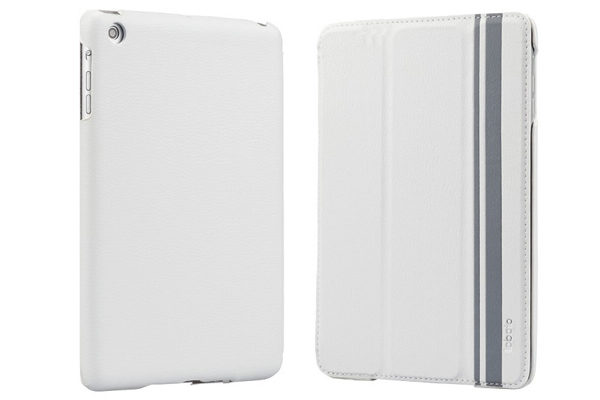 Labato iPad Mini / Mini 2 Leder-Case, weiss