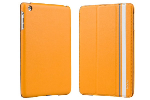 Labato iPad Mini / Mini 2 Leder-Case, orange