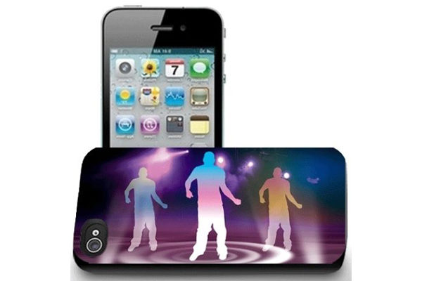 iPhone 5/5S/SE 3D-Back-Cover, Dance