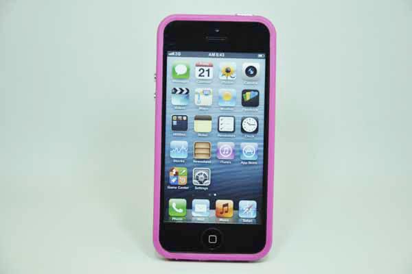 iPhone 5/5S/SE Bumper, pink