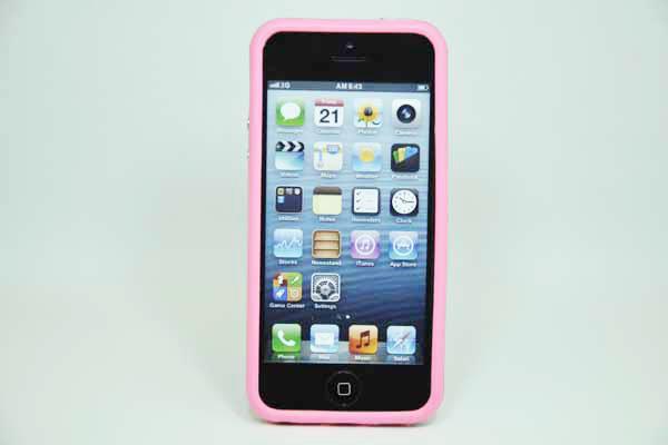 iPhone 5/5S/SE Bumper, rosa