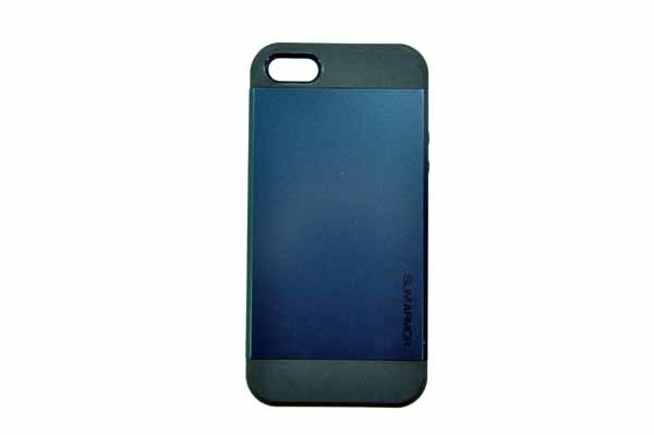 Spigen iPhone 5/5S/SE Back-Cover, dunkelblau