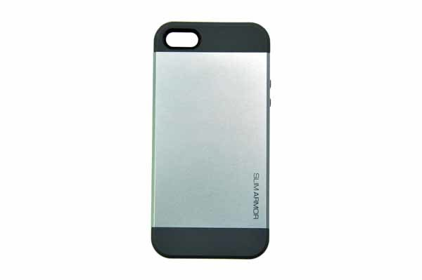 Spigen iPhone 5/5S/SE Back-Cover, silber