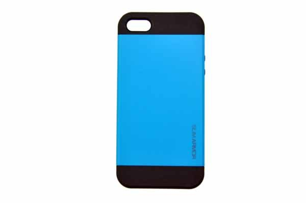 Spigen iPhone 5/5S/SE Back-Cover, blau