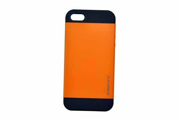 Spigen iPhone 5/5S/SE Back-Cover, orange