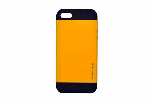 Spigen iPhone 5/5S/SE Back-Cover, hellorange