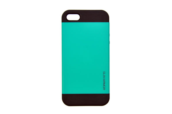 Spigen iPhone 5/5S/SE Back-Cover, türkis