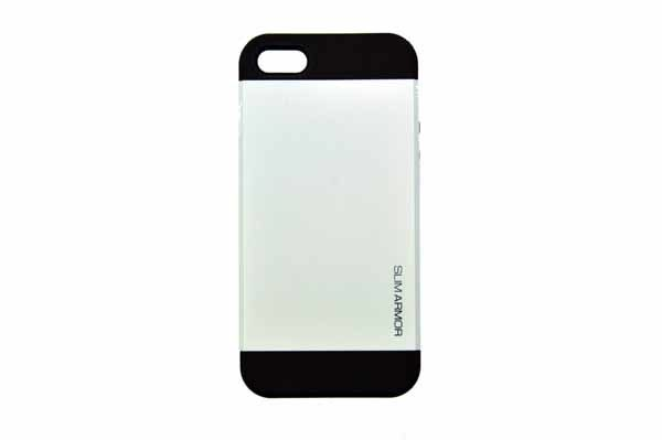 Spigen iPhone 5/5S/SE Back-Cover, weiss