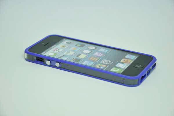 iPhone 5/5S/SE Bumper, violett