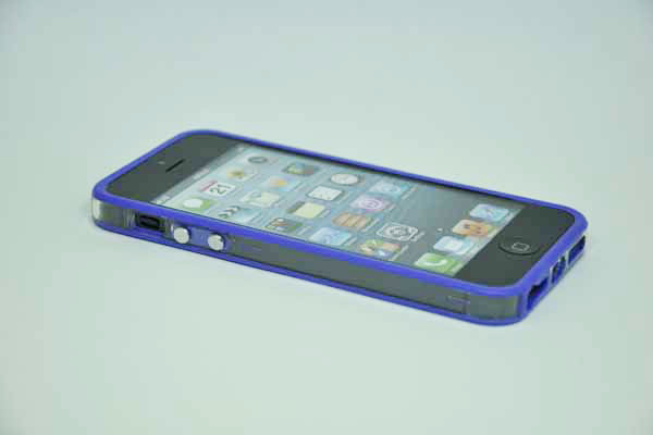 iPhone 5/5S/SE Bumper, violett