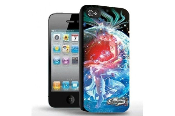 iPhone 5/5S/SE 3D-Back-Cover, Sternzeichen Skorpion