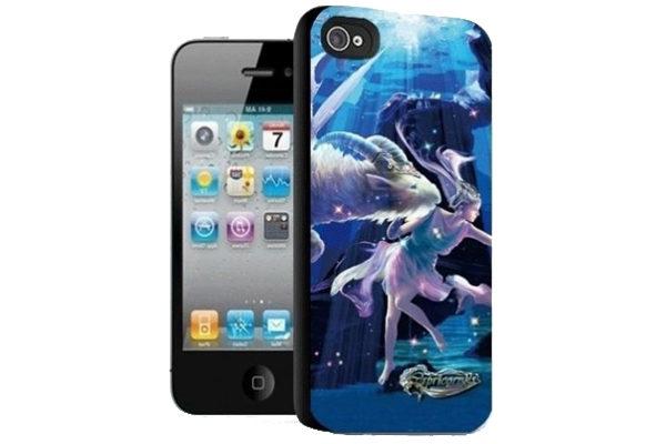 iPhone 5/5S/SE 3D-Back-Cover, Sternzeichen Widder