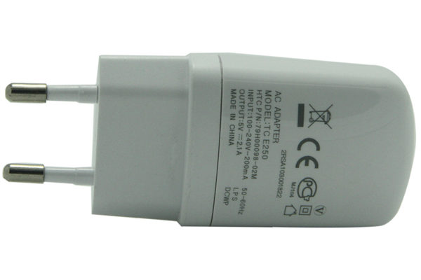 AC Adapter 2100mA für Phones & Tablets, weiss