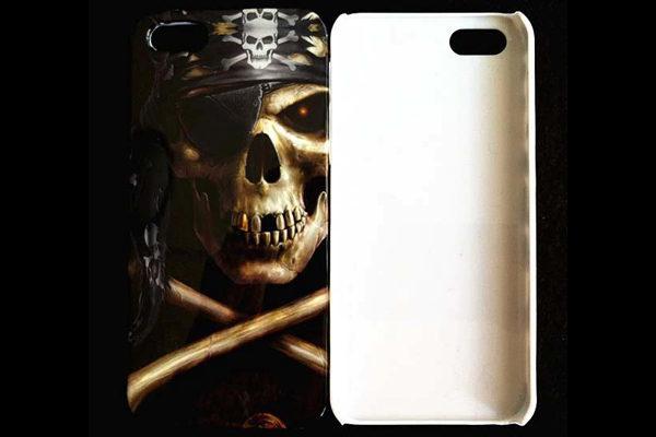 iPhone 5/5S/SE Hard-Back-Cover °Totenkopf°
