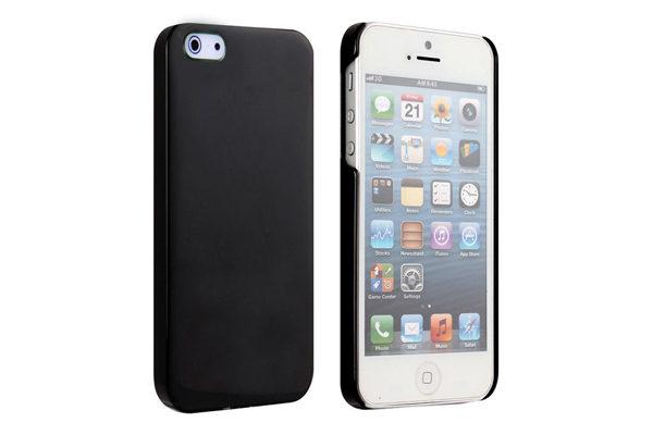 Bridge94 iPhone 5/5S/SE Hard-Case-Cover, schwarz-glanz