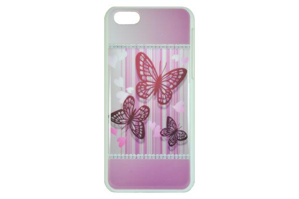 iPhone 5/5S/SE Back-Cover Schmetterlinge