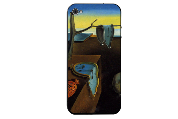 iPhone 5/5S/SE Decal-Folie °Dali - Persistence of Memory°