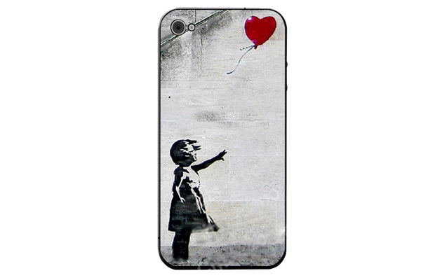 iPhone 5/5S/SE Decal-Folie °Banksy Hope Girl Baloon°