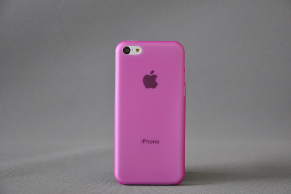Bridge94 iPhone 5C Back-Cover 0.3mm, pink