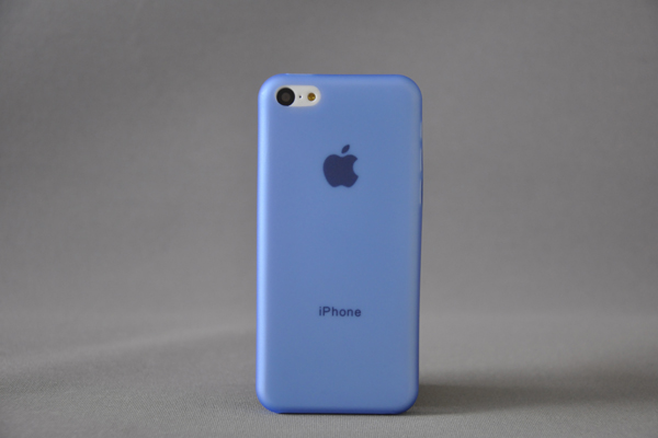 Bridge94 iPhone 5C Back-Cover 0.3mm, blau