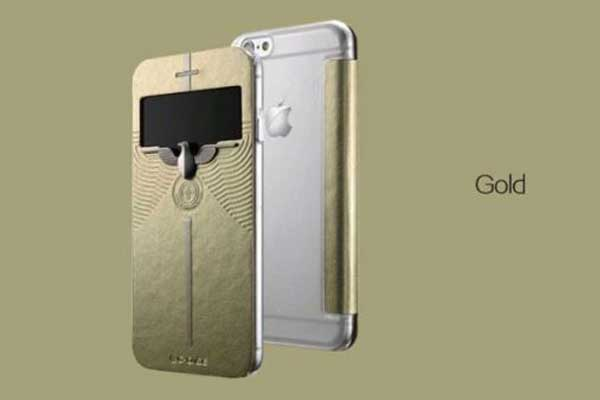 G-Case iPhone 6/6S PU-Leder-Case CLASSIC, gold