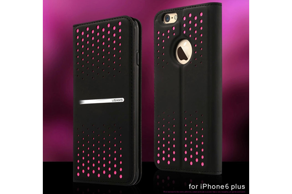 USAMS iPhone 6/6S Dots Case, pink
